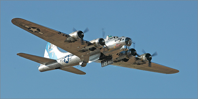 B-17C Flying Fortress Bomber  B17 Bomber